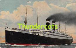 CPA S S LAPLAND RED STAR LINE - Steamers