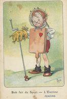 Illustrateur    Mich     Bob Fait Du  Sport    L'Escrime - Mich
