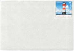 USo 79 Leuchtturm Roter Sand, Format 162x114, ** - [7] Repubblica Federale