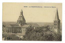 CPA 58 LA CHARITE-SUR-LOIRE L'ABSIDE DE L'EGLISE - La Charité Sur Loire