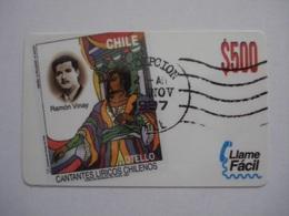 Carte Prépayée De Chili  ( Neuf Non Gratter ). - Chili