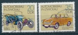DDR/East Germany/Allemagne Orientale 1979 Mi: 2412-2413 Yt:  (Gebr/used/obl/usato/o)(5179) - Used Stamps