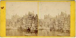 Amsterdam , A Jager Phot , Vue Stéréoscopique, Tirage Albuminé. C 1860 FG1581 - Stereoscoop