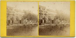 Amsterdam,  A Jager Phot , Vue Stéréoscopique, Tirage Albuminé. C 1860 FG1583 - Stereoscoop