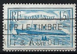 FRANCE 1935:  Le Y&T 300b (turquoise Claire), Obl.,    B à TB - Used Stamps