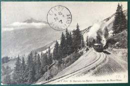 France - CPA - 8988 Saint-Gervais-les-Bains - Tramway Du Mont-Blanc - (B276) - Saint-Gervais-les-Bains