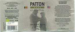 étiquette Bière Décollée Patton Brasserie Lupulus Gouvy - Bière