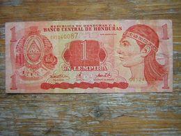 1 BILLET  BANCO CENTRAL DE HONDURAS 1 UN LEMPIRA - Honduras