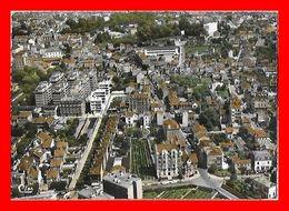 CPSM/gf (94) FONTENAY-sous-BOIS.  Vue Panoramique Aérienne Sur Le Centre...L087 - Fontenay Sous Bois