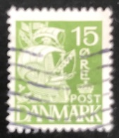 Danmark - D1/15 - 1940 - (°)used -  Zeilschip - 1913-47 (Christian X)
