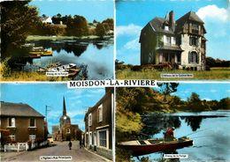 Moisdon La Rivière * Souvenir Du Village * 4 Vues - Moisdon La Riviere