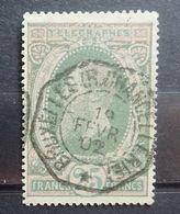 BELGIE  Telegraaf Zegel   1889    TG  10   Tand. 14     Gestempeld    CW 50,00 - Telegraph