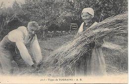 37    Types De Touraine       Travail De Moisson - France