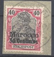 Dt. Auslandspostämter Marokko Mi.Nr. 13 Gestempelt - Deutsche Post In Marokko