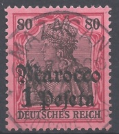 Dt. Auslandspostämter Marokko Mi.Nr. 29 Gestempelt - Deutsche Post In Marokko