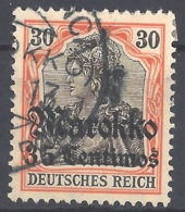Dt. Auslandspostämter Marokko Mi.Nr. 51 Gestempelt - Deutsche Post In Marokko