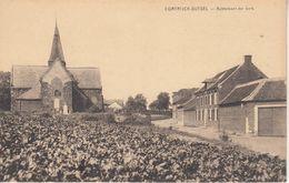 Cortrijck-Dutsel - Achterkant Der Kerk - Phototypie Desaix, Brussel - Churches & Cathedrals