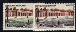 France N° 1059b  XX Le Grand Trianon De Versailles Variété Couleur Brun-violet  Au Lieu De Vert TB - Variedades Y Curiosidades