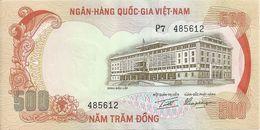 VIET NAM SOUTH 500 DONG ND1972 AUNC(agraphe) P 33 - Vietnam
