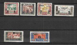 TOUVA  1932  Cat Yt N° 29 à 34 N** MLH  Série Complète - Tuva