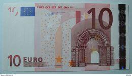 GERMANIA 10 EURO R012 G4/X DUISENBERG  UNC. - EURO