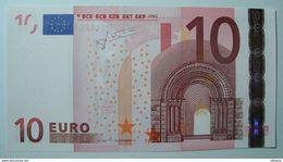 PORTOGALLO 10 EURO U003 B6/M TRICHET  UNC. - EURO