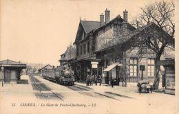 Lisieux (14) - La Gare De Paris Cherbourg - Lisieux