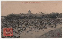 Timbre , Stamp Semeuse 10 C Brun Rouge Surchargé F.M.sur Cp , Carte , Postcard De Bac Ninh Du 13/11/1912 - Covers & Documents
