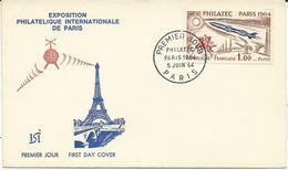 ENVELOPPE FDC PHILATEC 1964 - 1960-1969
