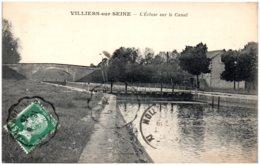 77 VILLIERS-sur-SEINE - L'écluse Sur Le Canal - Autres Communes