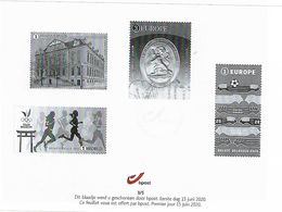 Belg. 2020 - Feuillet Noir & Blanc N° 3/5 ** -  (Premier Jour 15/06/2020) - Black-and-white Panes