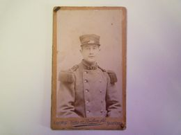 2020 - 5956  Joli PORTRAIT D'un Militaire Du 3è Régiment D'Infanterie  (Cannes  1903)   (Format Carte De Visite)   XXX - Non Classificati