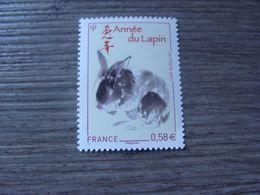 Année Lunaire Chinoise Du Lapin - N° 4531 - Année 2011 - Neuf** - France