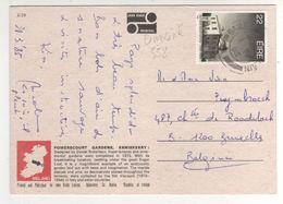"""Timbre , Stamp Yvert N° 558 """" Observatoire De Dunsik """".sur Cp ,carte , Postcard  Du 01/04/85 - 1949-... Republic Of Ireland"""