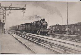 CP   - TRAIN Avec LOCO; P.O. 4093 En Gare - Trains