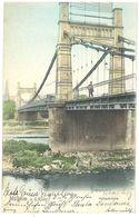 Cpa Allemagne - Mülheim A. D. Ruhr - Kettenbrücke - Deutschland