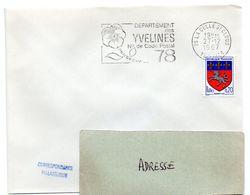 YVELINES - Dépt N° 78 = LA CELLE ST CLOUD 1967 = FLAMME Codée = SECAP  ' N° De CODE POSTAL / PENSEZ-Y ' - Postleitzahl