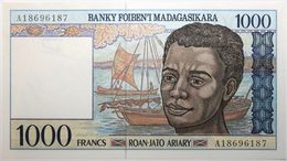 Madagascar - 1000 Francs - 1994 - PICK 76a - NEUF - Madagascar