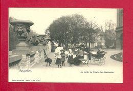 C.P. Bruxelles = Au  Jardin  Du  Palais Des Academies - Brussel (Stad)