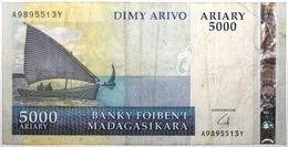 Madagascar - 5000 Ariary - 2008 - PICK 91b - TTB - Madagascar