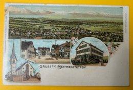 12554 -  Gruss Aus Mettmenstetten état Moyen - ZH Zurich