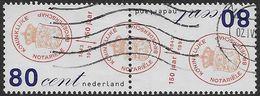 NVPH 1561-1562 - 1993 - 150 Jaar Noteriële Broederschap - Periodo 1980 - ... (Beatrix)