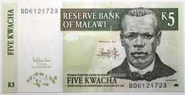 Malawi - 5 Kwacha - 2005 - PICK 36c - NEUF - Malawi