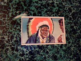"""Image Chocolat LOUIT Image No 35 """" Tamenund L'ancétre """" Album Le Dernier Des Mohicans - Louit"""