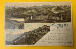 12555 -  Gruss Vom Rigi - LU Lucerne