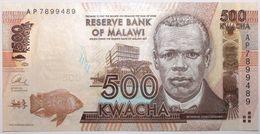 Malawi - 500 Kwacha - 2013 - PICK 61b - NEUF - Malawi