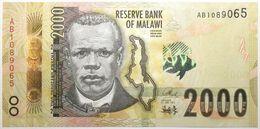 Malawi - 2000 Kwacha - 2016 - PICK 69a - NEUF - Malawi