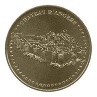 Monnaie De Paris , 2010 , Angers , Château , Face Simple - Monnaie De Paris