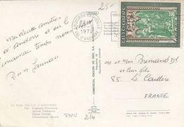 CARTE ANDORRE. EGLISE ROMANE  / 2 - Andorre Français