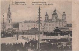 S T Pétersbourg  La Cathédrale Du St Nicolas - Russland